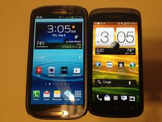 Samsung Galaxy S3 vs. HTC One S Review @TMobile #4GLife @Attmobilereview