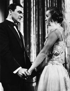 "Gene Kelly and Debbie Reynolds in MGM's 1952 musical ""Singin' in the Rain"""