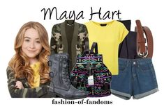 """Maya Hart"" by fofandoms ❤ liked on Polyvore featuring moda, Wet Seal, Sperry Top-Sider, Chicnova Fashion e Glamorous"
