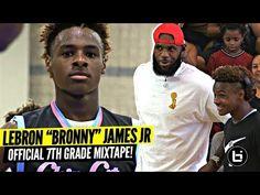 b78af96c52d8 Bronny James Jr OFFICIAL Mixtape Vol. 1!!!