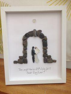 Wedding gift with stones in a frame - gift . - Wedding gift with stones in a frame – gifts # … – wedding gift -