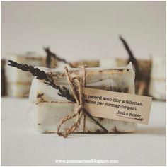 Regalo invitados boda: Jabón artesanal