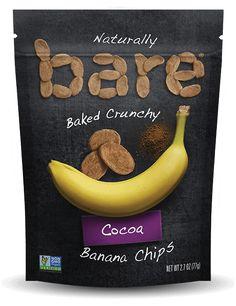 COCOA BANANA CHIPS • BareSnacks