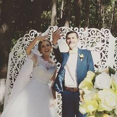 """Прекраснейшея невеста Настя в платье ТМ #""""DOMINISS"""",желаем семейного благополучия!!!!"""