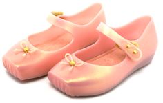 boutique flirt - Mini Melissa Ballet Jelly Shoes Light Pink, $55.00 (http://www.boutiqueflirt.com/mini-melissa-ballet-jelly-shoes-light-pink/)
