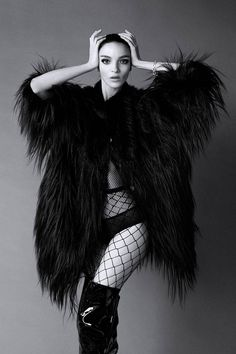 """""""Unmistakable, Unforgettable, Always In Fashion: Icons"""" Mariacarla Boscono in Giorgio Armani for Harper's Bazaar US September 2014"""