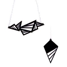 Love Plastique's geometric stuff! 2-pack on sale at http://fab.com/0sbu4r for $24 . More on http://www.plastiqueshop.com/