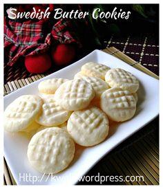 Uppåkra (Swedish Butter Potato Starch Cookies) (瑞典马铃薯粉牛油饼干)#guaishushu   #Kenneth_goh #Uppåkra  #potato_starch_cookies  #Swedish_butter_cookies  #瑞典马铃薯粉牛油饼干