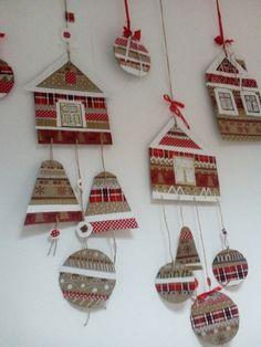 "Студия изобразительного искусства ""МАТИСС"" Christmas Makes, Christmas Angels, Christmas Diy, Burlap Christmas Ornaments, Christmas Decorations To Make, Winter Crafts For Kids, Art For Kids, Childrens Christmas, Mosaic Crafts"