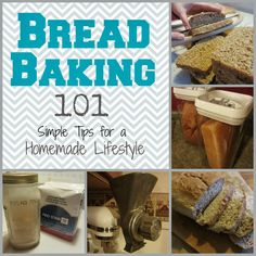 The Unlikely Homeschool: Bread Baking Tips for a Homemade Lifestyle Wheat Bread Recipe, Yeast Bread Recipes, Baking Tips, Bread Baking, Fresh Bread Crumbs, Sandwiches For Lunch, How To Make Bread, No Bake Desserts, Diy Food