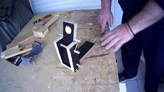 I always wanted to make a toy catapult and since we are all quarantined in our houses during the corona virus with the kids I thought that is a good idea to . Scrap Wood Projects, Catapult, Project 4, Wood Pieces, Make It Yourself, Toys, Videos, Corona, Activity Toys