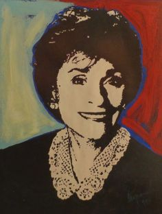 Judge Judy STENCIL street art Graffiti pop art by artworksvintage, $200.00