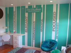 gymnastics bedding   Makeover of a young gymnast's bedroom   Project Dragonfly   Duaine ...