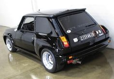I lusted after this car in the late 80s.  This is a Renault 5 Turbo 2.  Very hot.  It had a cameo in a James Bond movie from the era.