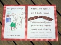 Hostess with the Mostess® - We're Going on a Bear Hunt Birthday party