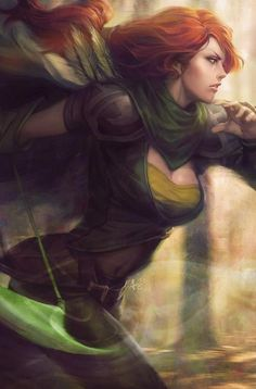 Windranger art by artgerm on deviantart