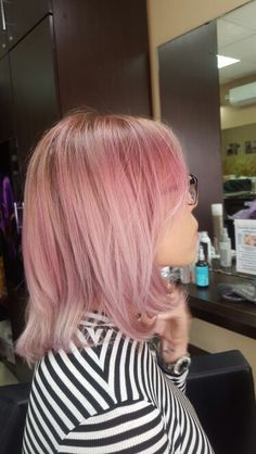 Pink hair, image,fashion