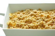 """This Cheesy Hashbrown Potato Casserole (or """"Funeral Potatoes"""") is full of melted cheese and is so creamy. Perfect for a holiday dinner or a party. Cheesy Potatoes With Hashbrowns, Cheesy Potato Casserole, Potato Dishes, Potato Recipes, Funeral Potatoes Recipe, Funeral Food, Easy Freezer Meals, Food To Make, Cooking Recipes"""