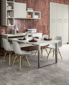Che bello fare colazione o un break in una cucina Arrex. www.arrex.it