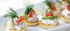 Toast Skagen - with shrimps and boiled eggs, mixed with mayonnaise Appetizer Salads, Appetizer Recipes, Snack Recipes, Cheese Recipes, I Love Food, Good Food, Yummy Food, Tapas, Scandinavian Food