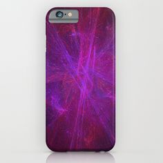 Void #2 Psychedelic Universe Vibrant Fractal Galaxy Pattern iPhone & iPod Case