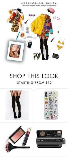"""""""Losing my mind!!!!"""" by kitty1126 ❤ liked on Polyvore featuring ASOS, JEM, Kevyn Aucoin and Polaroid"""