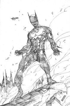 Batman Beyond by Brett Booth