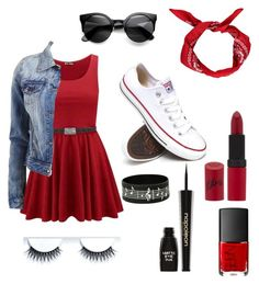"""Bleed RED "" by kaitlynbug1 ❤ liked on Polyvore"