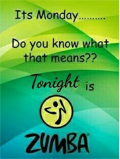 Monday Zumba