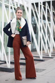 70's inspired outfit  | For more style inspiration visit 40plusstyle.com