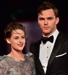 Something to talk about: Kristen Stewart sparked more attention as she cosied up to Nichol...