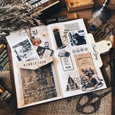Inspiration for keeping an art journal, travel journal, or scrapbook