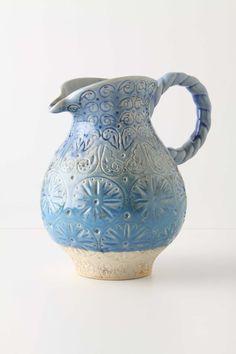 beautiful ceramic pitcher!