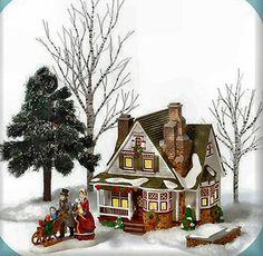 Christmas Homecoming At Havenport New England Village Lemax Christmas, Christmas Houses, Christmas Villages, Christmas Things, Christmas Trees, Christmas Crafts, Xmas, Christmas Village Collections, Dickens Village