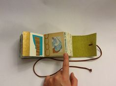 Little book by robayre, via Flickr; the idea of repeated lines and patterns based on simplified imagery is nice...
