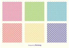 Polka Dot Pattern Set