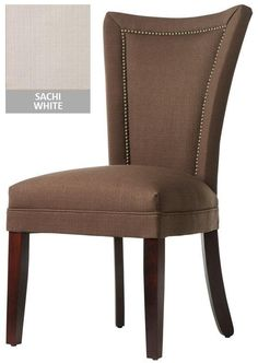 Dining Chair with Nailheads - Dining Chair - Dining Room - Furniture | HomeDecorators.com