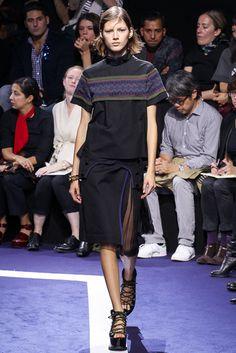 Sacai Spring 2015 Ready-to-Wear Fashion Show - Valery Kaufman (Elite)