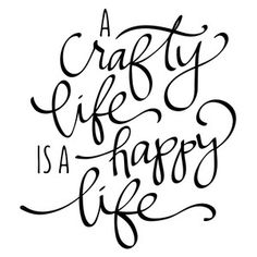 Silhouette Design Store: A Crafty Life Is A Happy Life