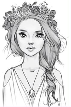 Image Result For Beautiful Girl Face Sketch Art Drawings Sketches