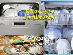 Full wash cycle in a dishwasher  Mosogató by Gyula Dio  via slideshare