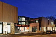 Cinéma, crèche, centre social, pôle petite enfance et salle municipale à Sainte-Foy-les-Lyon - Archigroup