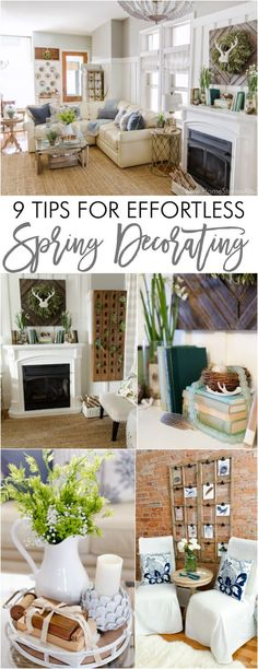 Spring Home Tour: 9 Tips for Effortless Spring Decorating