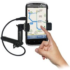 Amzer AMZ93558 Lighter Socket Phone Car Mount with Charging and Case System for HTC Amaze 4G  Retail Packaging  Black * Read more reviews of the product by visiting the link on the image.