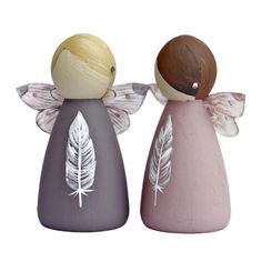 Feather Bereavement Gifts Fairy Peg Doll - Lotty Lollipop She flutters at ta. Wood Peg Dolls, Clothespin Dolls, Guardian Angel Gifts, Bereavement Gift, Remembrance Gifts, Fairy Gifts, Wooden Pegs, Wooden Gifts, Sympathy Gifts