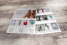 Fashion Product Promo Flyer by SmmrDesign on @creativework247