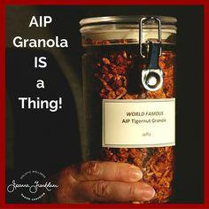 TOTALLY AWESOME Jaffa Tigernut Granola (AIP/Paleo)