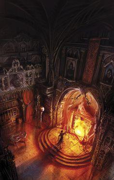 Dying earth II, Jack Vance by *MarcSimonetti