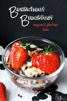 Buckwheat Breakfast - Cake in a Mug - glutenfree