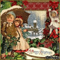 vintage christmas Animated GIF  | christmas vintage..
